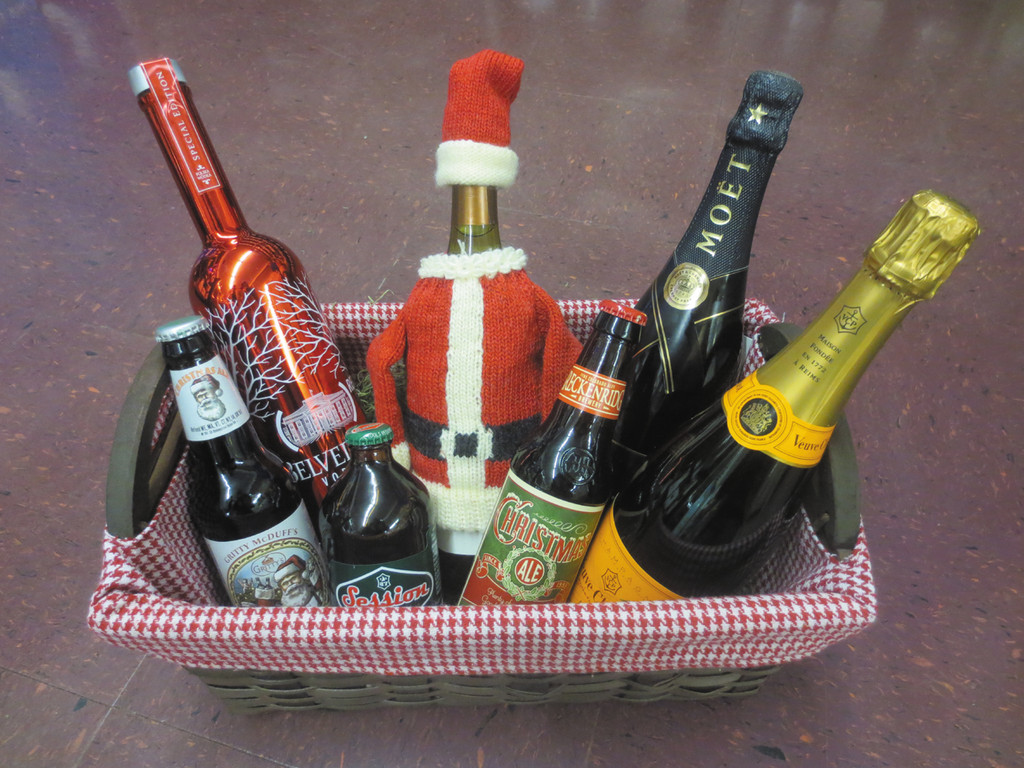 Be the best guest in town at your next holiday gathering; visit Larry's Liquors for your holiday wine & spirits, including these festive options.