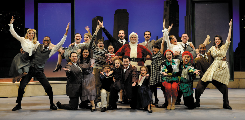The cast of �Miracle on 34th Street, The Musical.�