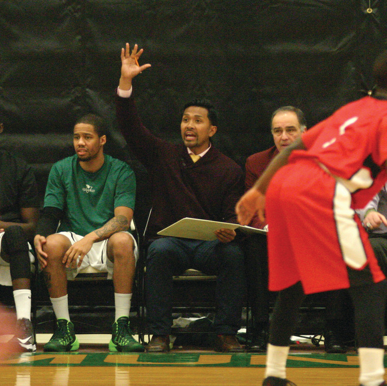 HOME COURT: Former Cranston East All-Stater Soap Toun is now an assistant coach at CCRI.