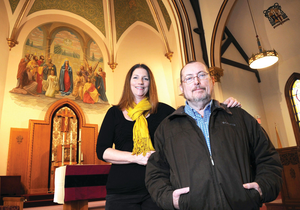 YOU'VE GOT TO BELIEVE: When Bill Healey of Whitman asked for help in finding a kidney donor, it was just short of miraculous that his fellow parishioner at Holy Ghost Church turned out to be a match and a willing donor.
