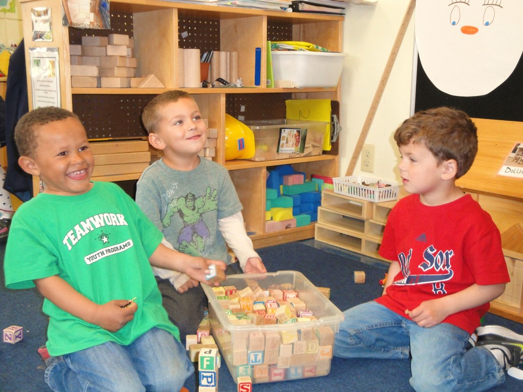 COLLABORATIVE LEARNING: Westbay�s Children�s Center encourages their students to think, explore, play and work together while preparing them for the next steps. There are spots available in some of their programs.