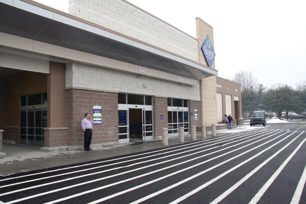 ALMOST READY: Sam's Club on Universal Boulevard off Route 2 is set to re-open to members on Jan. 23. It will be the only Sam's Club in the state.