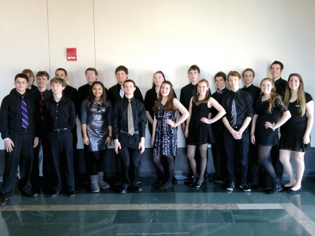 "TAKING FOURTH: Over the weekend, students in Toll Gate's Jazz Ensemble traveled to Boston to compete in Berklee College of Music's High School Jazz Festival, earning a fourth place ""Honorable Mention"" finish in their category."
