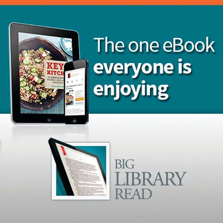 WORLDWIDE READ: This month, all Rhode Island libraries are offering patrons the opportunity to take part in a Big Library Read e-book program, giving all patrons the ability to borrow an e-book version of a new cookbook at the same time.