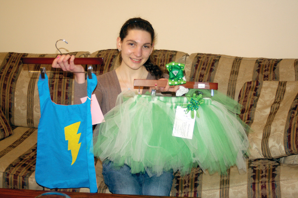 SUPERHEROS AND PRINCESSES: Bowman�s Friends of Rachel club at Bay View Academy will be working with Flora�s Heart founder Keri Grabiec to learn how to make the special capes and tutus, which are delivered to area hospitals to brighten the days of sick children.