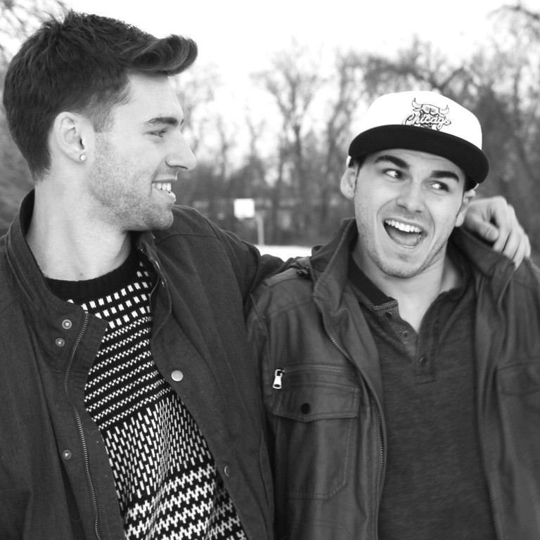 FINDING FAME: Brothers John and Jake Cardiff of Warwick are on track to become the next big rap duo,  starting their first headlining tour in the Northeast and Midwest this May.