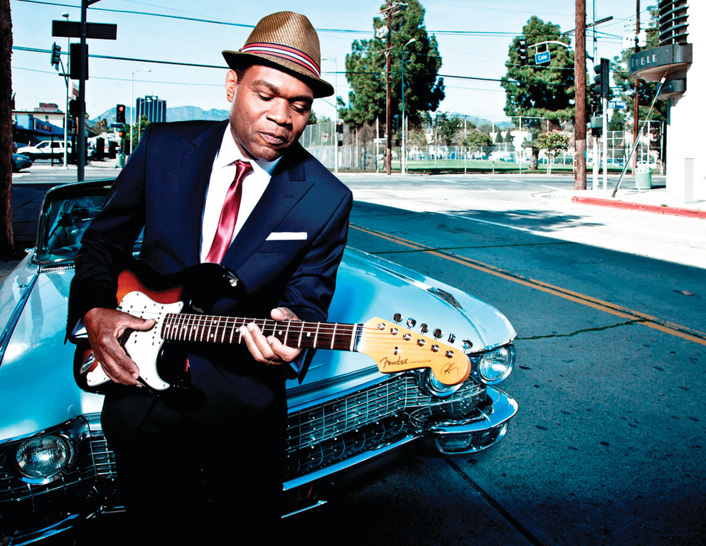 "STILL HAVING FUN: Robert Cray, whose career spans four decades, said he and his band are ""having a good time"" as they tour in support of the new album, ""In My Soul."""