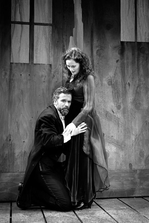 Tony Estrella as Macbeth and Jeanine Kane as Lady Macbeth.