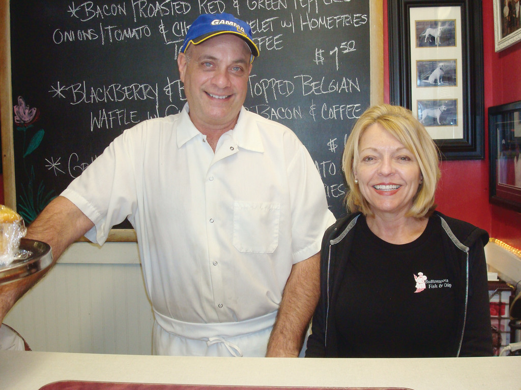 Meet Tony and Jackie Fiore, owners and proprietors of Warwick's popular restaurant Buttonwood's Fish & Chips on Buttonwoods Avenue.