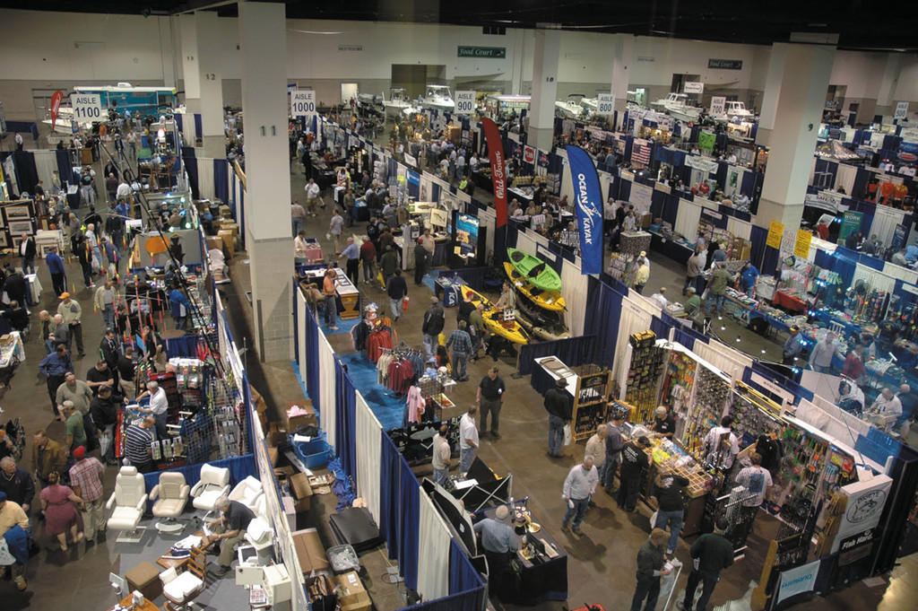 Fishing show next week: The New England Saltwater Fishing Show, being held March 28-30, will have ninety seminars and workshops and over 250 exhibitors.