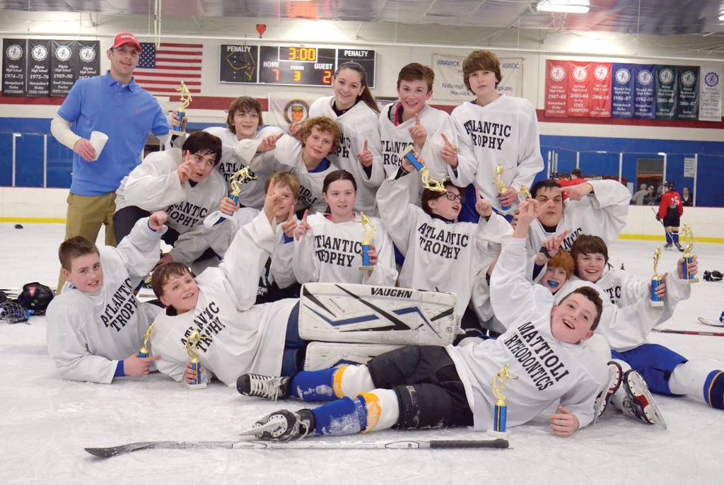 Squirt champions Atlantic Trophy