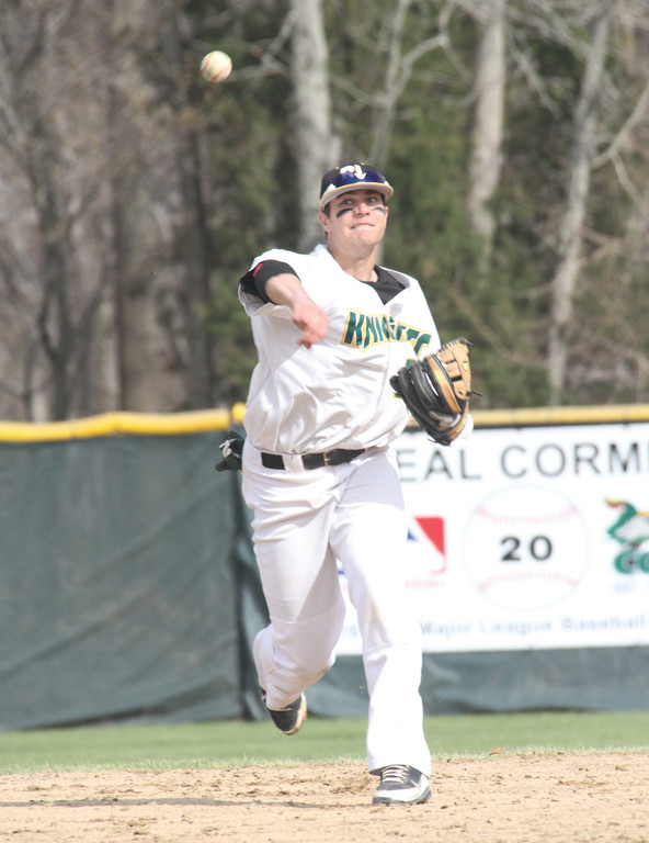 BIG ARM: Ryan O'Dell of Lincoln will play shortstop and pitch for the CCRI baseball team this spring.