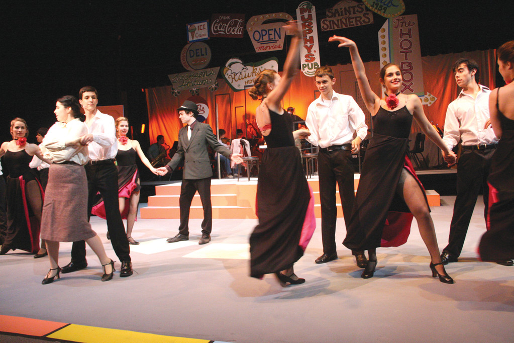 "The cast of Bishop Hendricken's ""Guys And Dolls"" will take you to Havana during their colorful performances, Thursday, Friday and Saturday at 7 p.m. and Sunday at 2 p.m. Tickets are available at www.hendricken.com or by calling 739-3450 ext. 172."