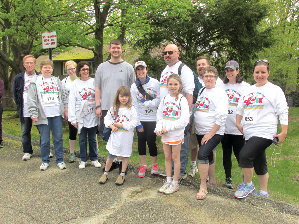 NEW NICHE: Beacon Communications, publishers of statewide magazines and three newspapers, was well represented in Saturday's second annual Rocky Point 5K Road Race.