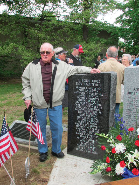 New monuments honor Graniteville natives who served during