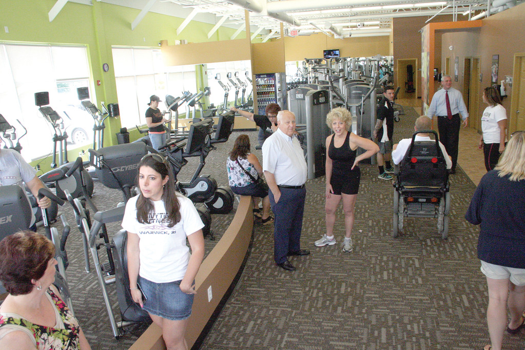 PLENTY OF EQUIPMENT: The Warwick gym, open 24 hours a day, has no shortage of equipment and programs to stay fit.