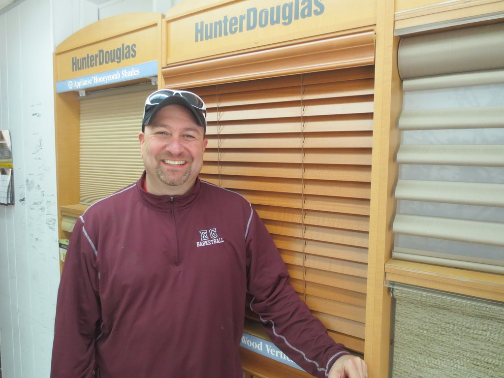 Meet Harris Alkins, owner of Harris Blinds & Shutters, still going strong after 24 years in the business.