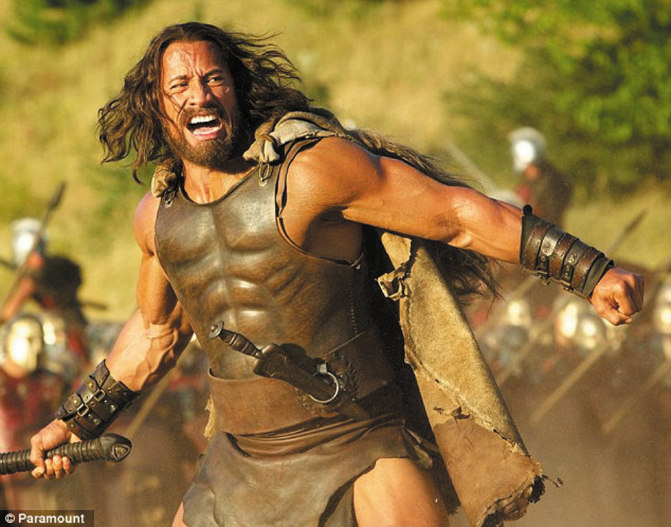 Dwayne �The Rock� Johnson in �Hercules.�