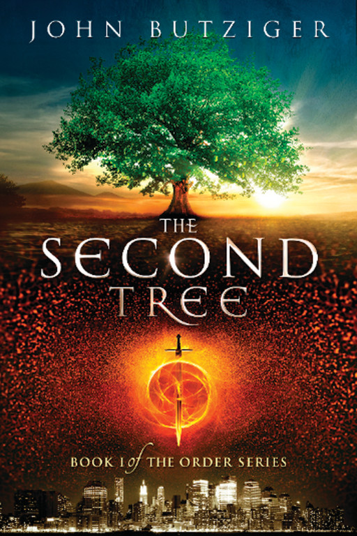 "THE SECOND TREE: Local author John Butziger released his first novel this year, titled ""The Second Tree."" Pictured is the cover. He had posted an application to 99Designs.com, where artists from all over the world compete to have their artwork showcased. Butziger's children Kate, Graham and Devon all voted on their favorites and were ecstatic to play a part in their father's writing process. Butziger's wife, Theresa, was also a great support to him throughout the process."