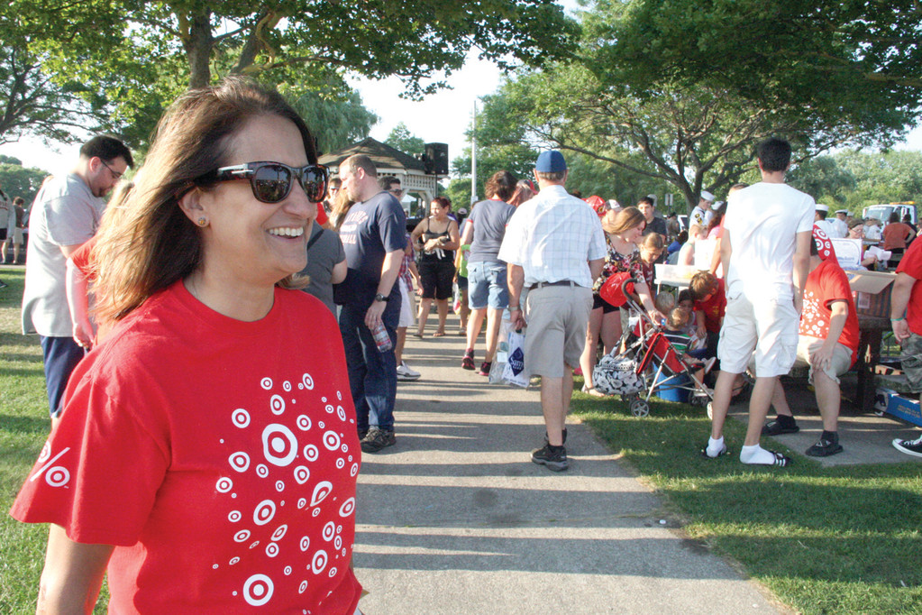 Target store manager Pam Charpentier. Target is a major sponsor of National Night Out.