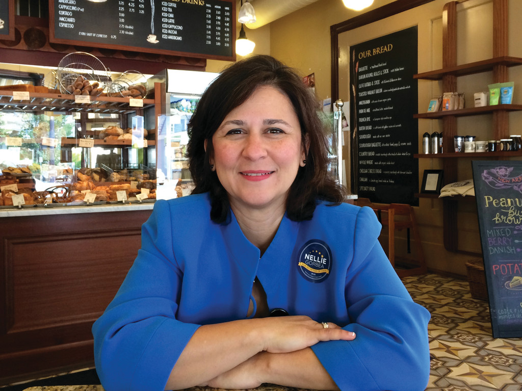 CAMPAIGNING: Nellie Gorbea, Democratic candidate for Secretary of State, says her campaign is focused on engagement and transparency.