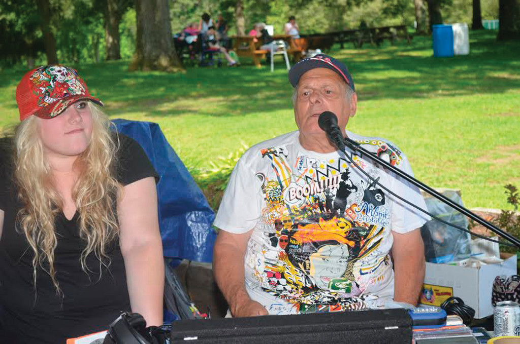 "CLASSIC TUNES: ""Mr. Remember When,"" a.k.a. Joe Martini, upheld the theory of ""Elks share, Elks care"" last Thursday as he played music along with his granddaughter Gabrielle Martini and later raffled off a host of prizes."