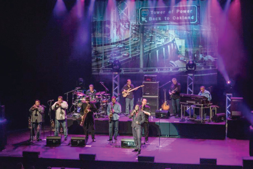 KICKING THINGS OFF: Tower of Power will get the Park Theatre's fifth anniversary season started on Sunday, Sept. 28. (Photo courtesy of Ray Greene)