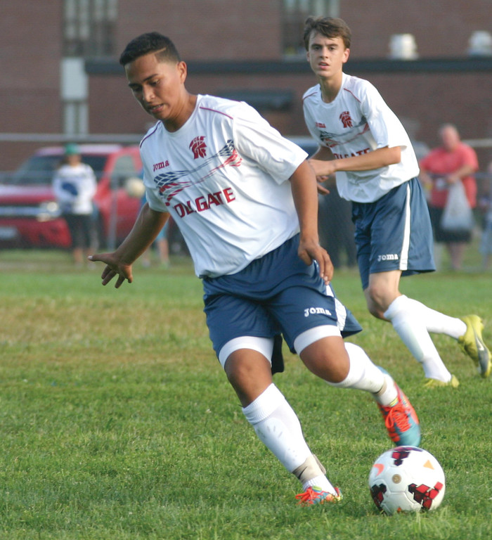 CARRYING: Alex Beltran is a returning player for the Toll Gate team that won the Division II title last season.
