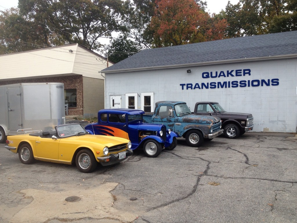 Quaker Transmissions has been servicing vehicles of all makes and models for over 25 years and continues to provide consistent, reliable and outstanding workmanship to this day ~ bring your vehicle to this repair shop on Tiogue Avenue.