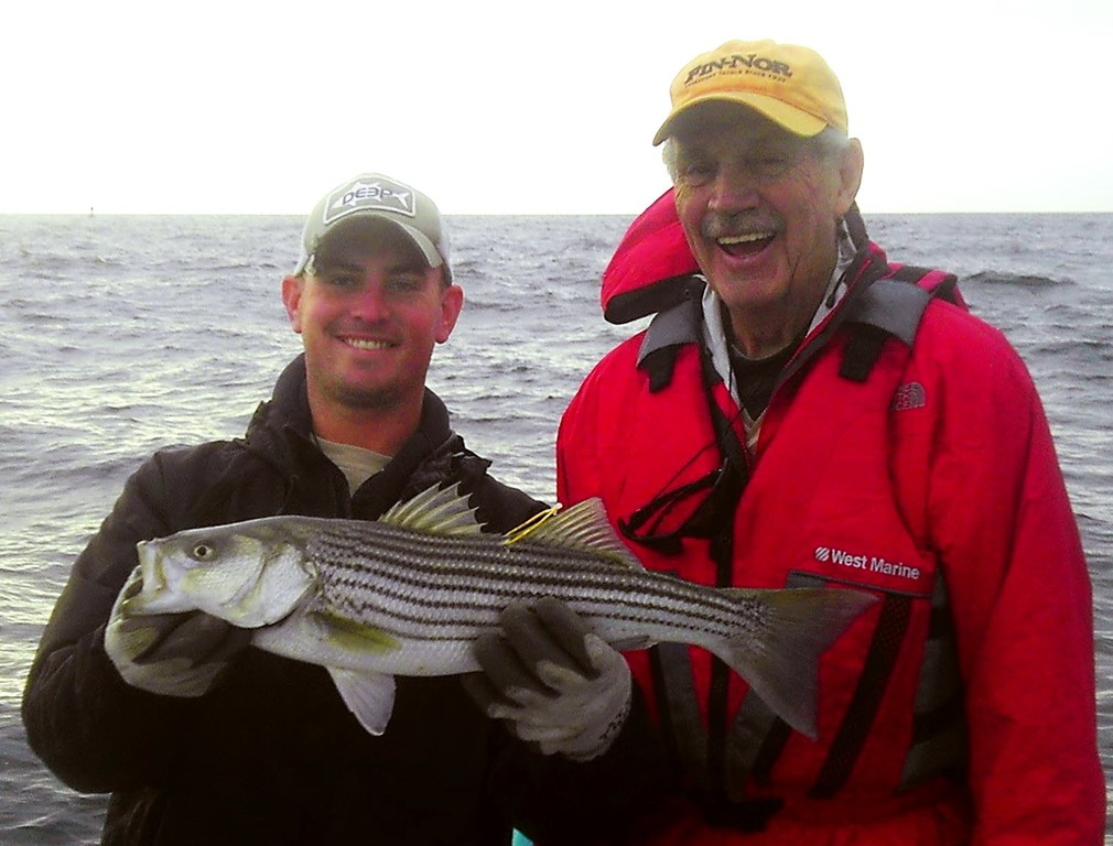 Anderson knows how to play tag cranston herald for Captain al fishing