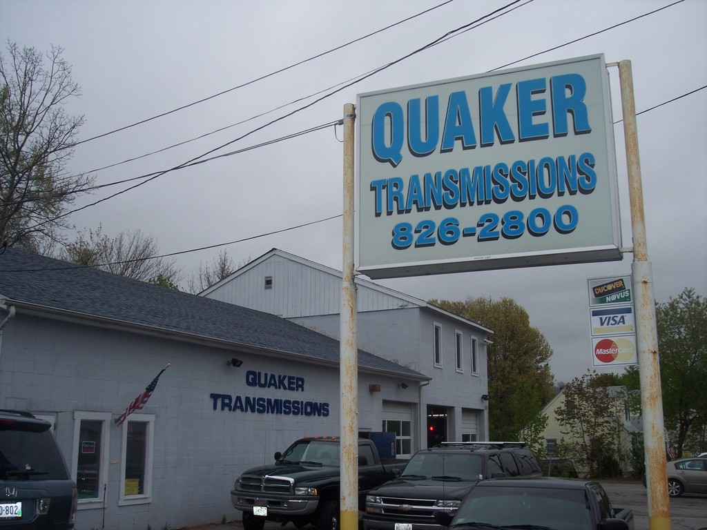 Quaker Transmissions in West Warwick has been servicing transmissions since 1976 at this busy service station on Tiogue Ave. Get your car's transmission prepared for the upcoming winter months.