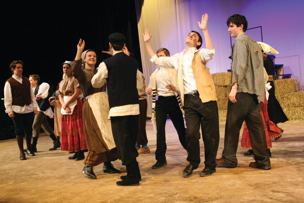 There S A Fiddler On The Roof At Hendricken This Week