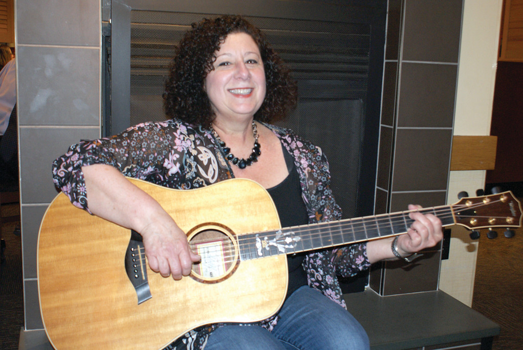 "RISING FROM THE STORM: Joanne Lurgio of Warwick has just released her third full-length album, ""Rise from the Storm."" A release party will be held at Pub on Park in Cranston on April 19."