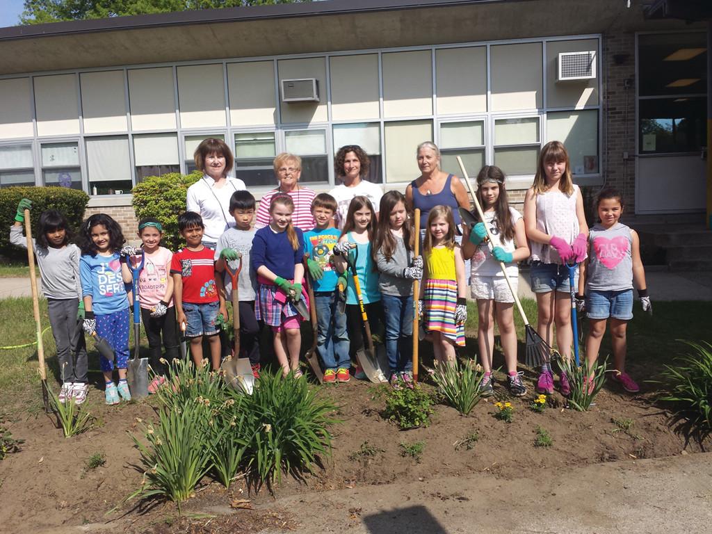 love of gardening blooms at garden city elementary - Garden City Elementary School