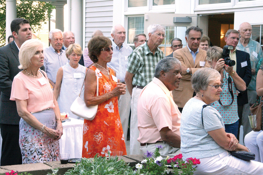 HONORING DAN: Friends of the late Dan Pendergast gathered Monday evening for a tribute to a man who worked hard for the community.