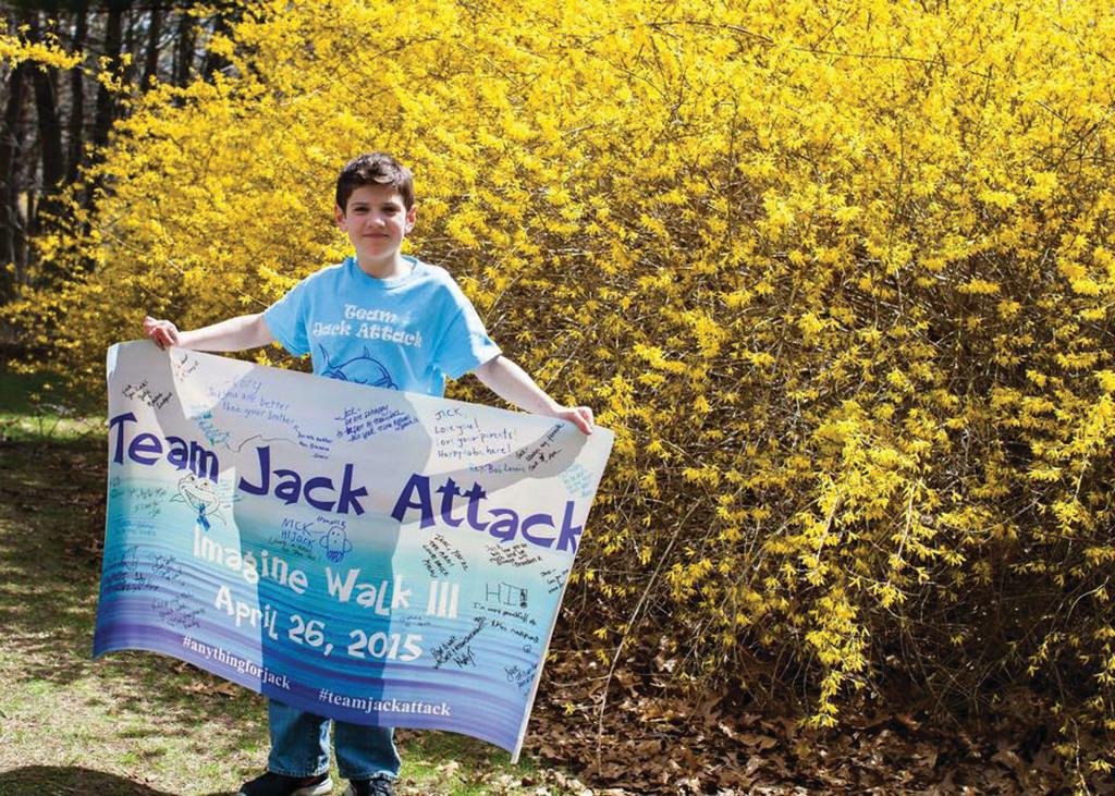 Jack receives off