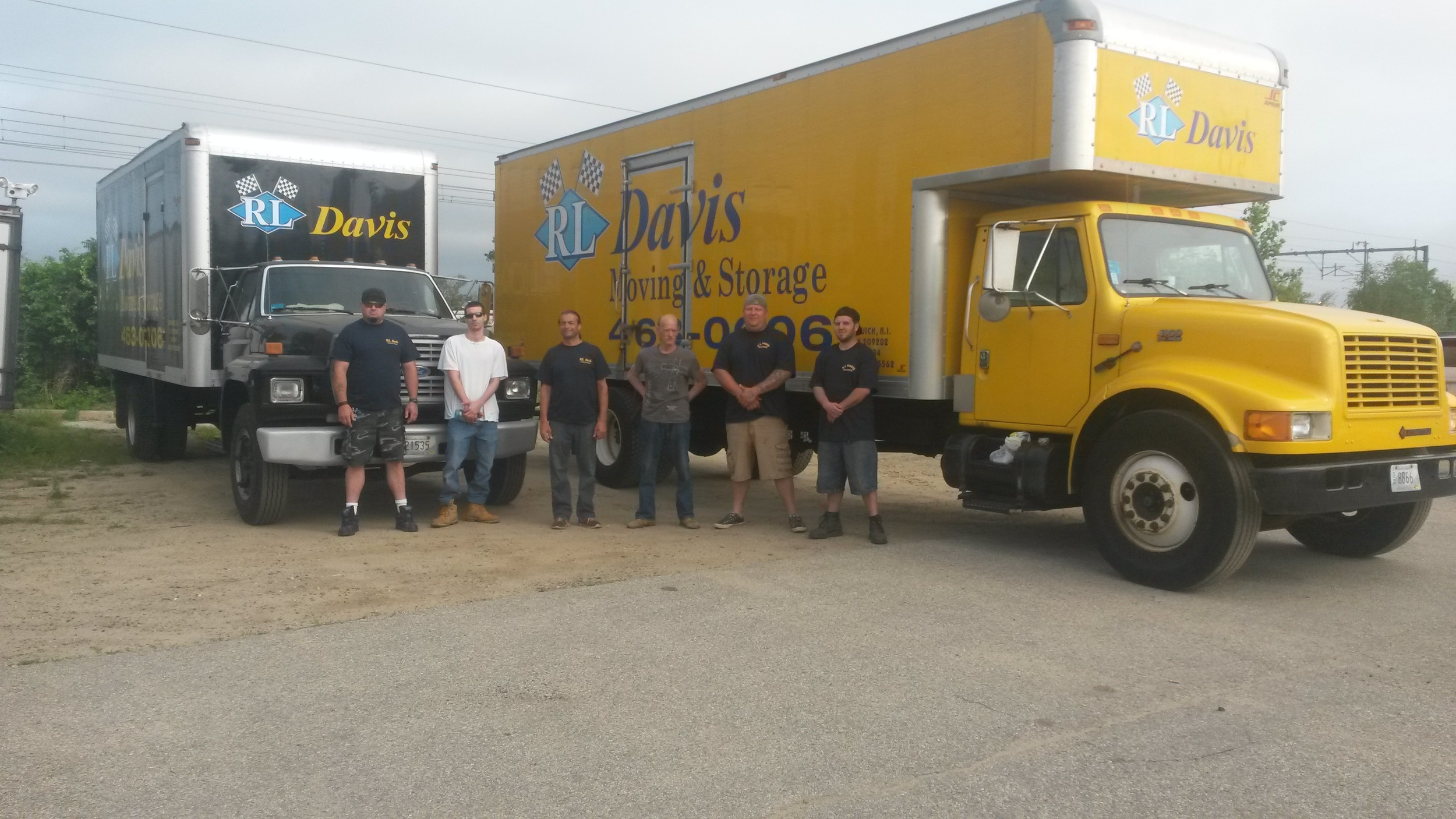 Look For These Familiar Trucks And These Hard Working Movers From The Local  Moving Company