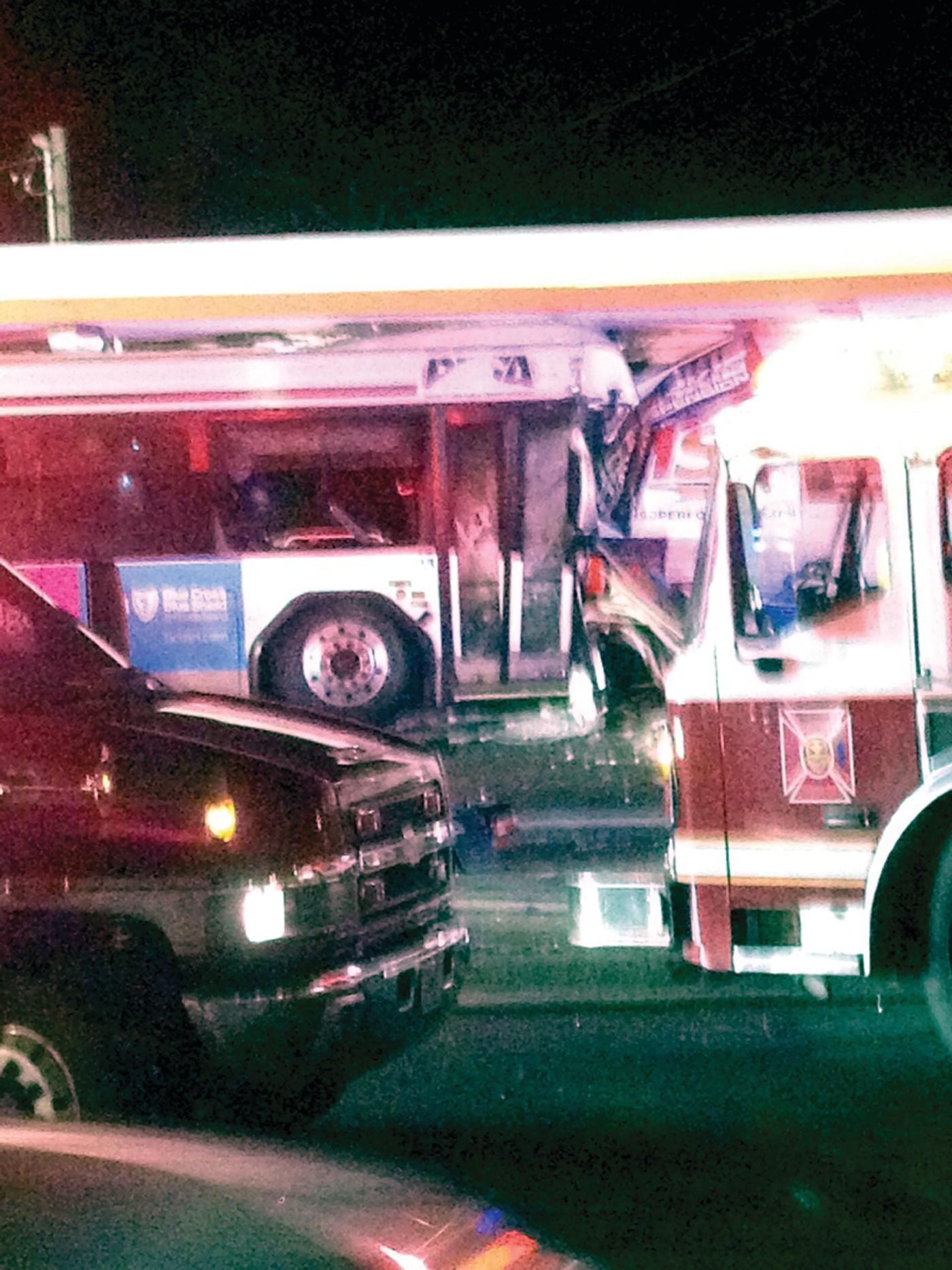 Status of injured bus driver, passenger from Warwick crash