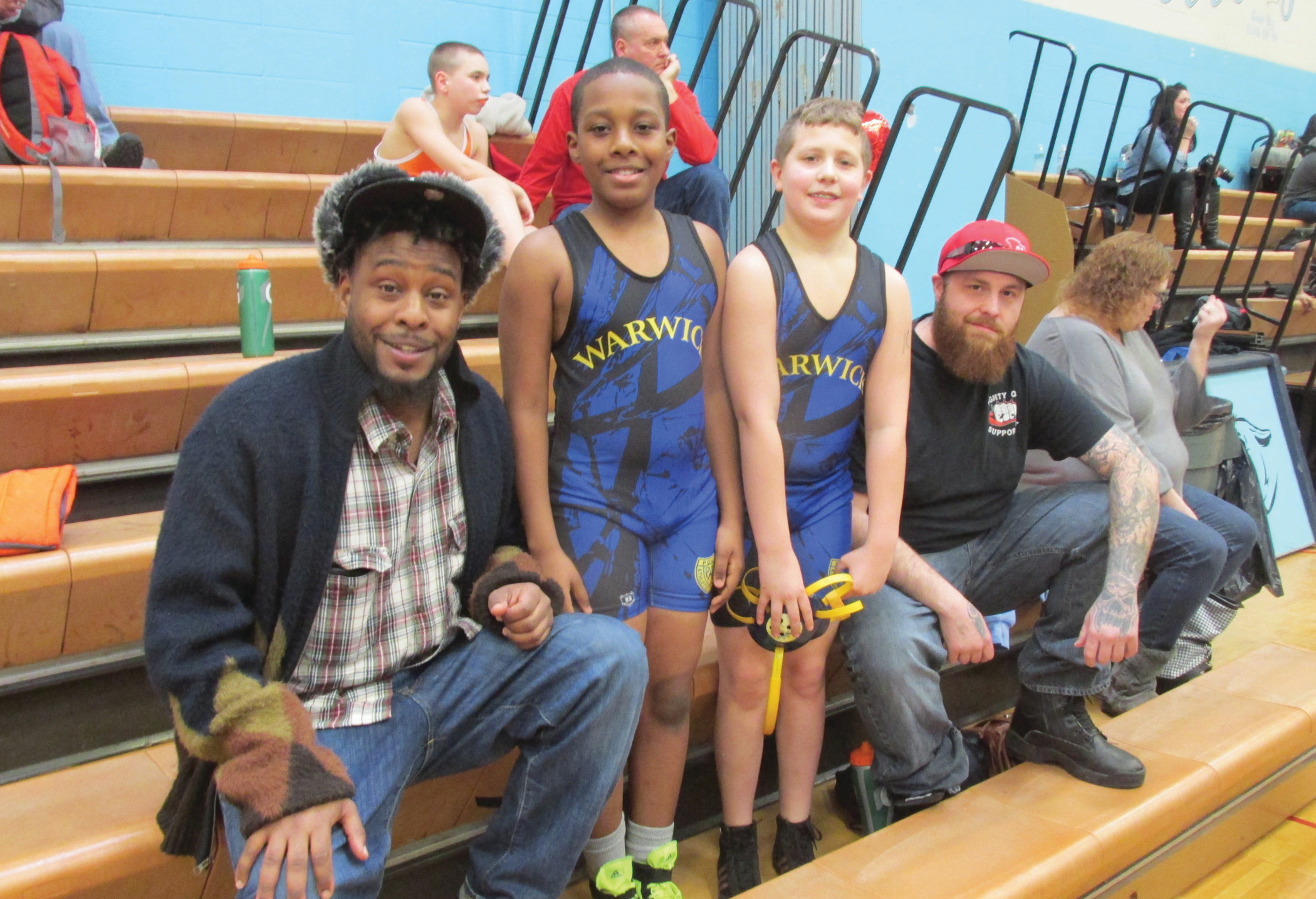 PAL wrestlers compete in Johnston Youth Wrestling Tournament