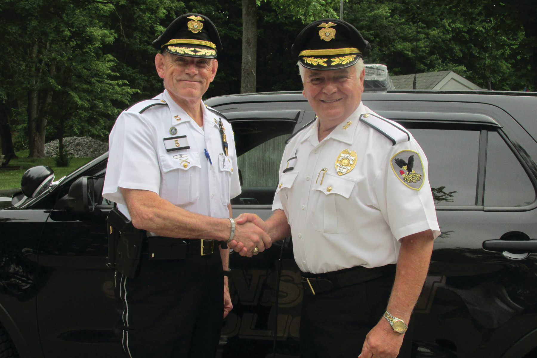 Rhode Island Handshake