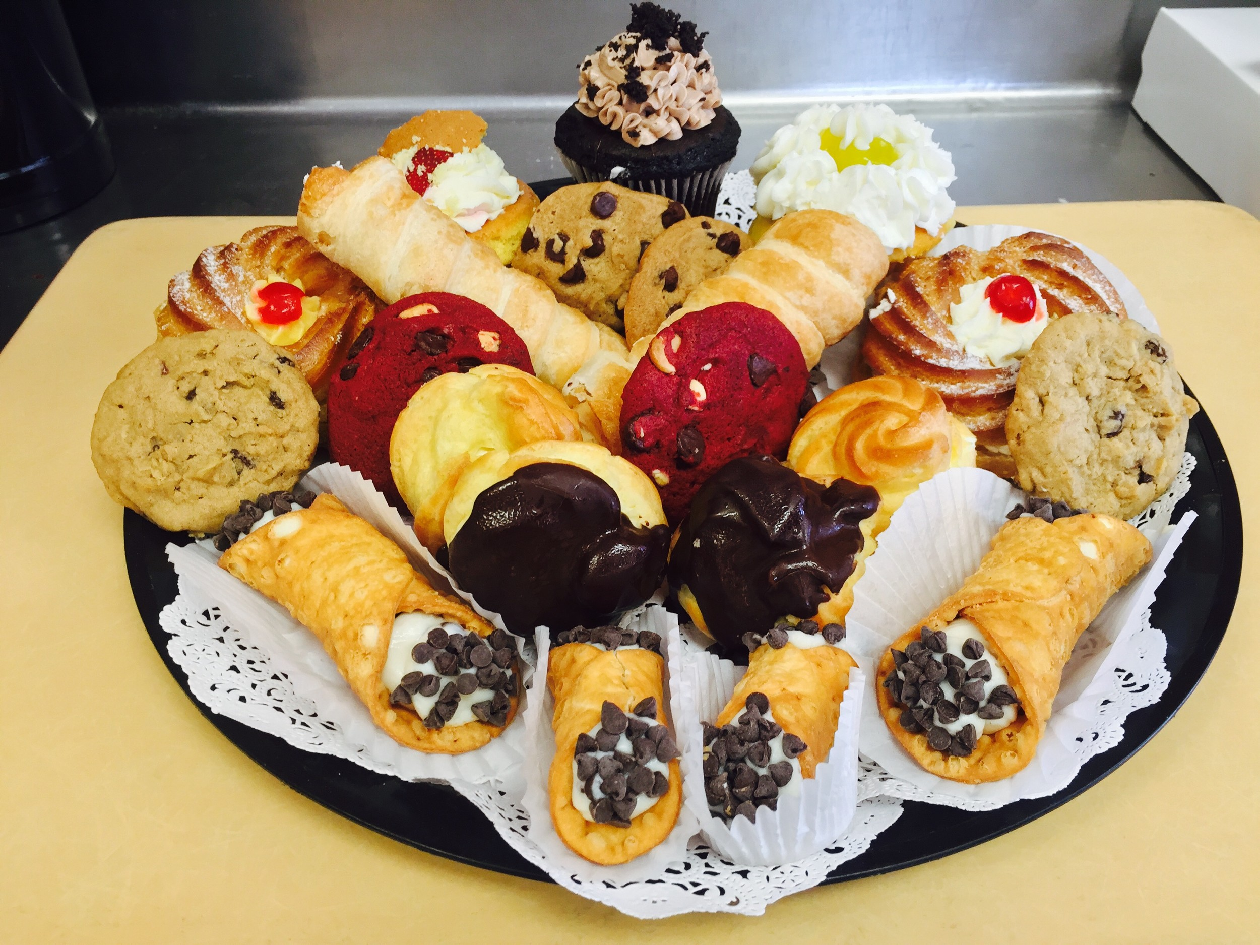 Come sample one of these delectable treats and tasty indulgences at Borrelli's Bakery, Johnston's longtime favorite bakery on Plainfield Pike ~ and meet its new owner Ruchita Patel!