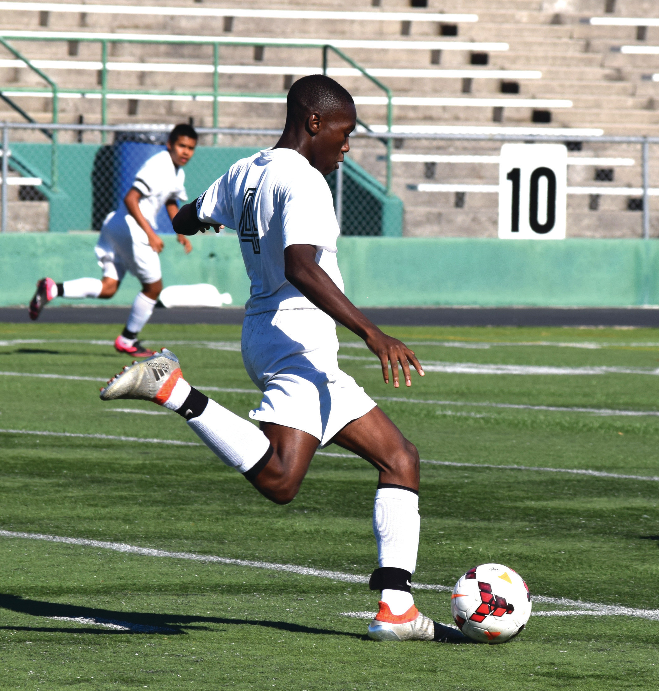 Ayodeji George had an assist against Scituate and a goal against Davies.