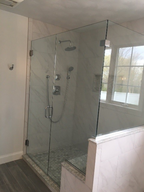 "Pictured above is a recent bathroom remodel in a home in Warwick Neck by the ""Preferred Home Improvement Company"", McCormick's Home Improvement, LLC."