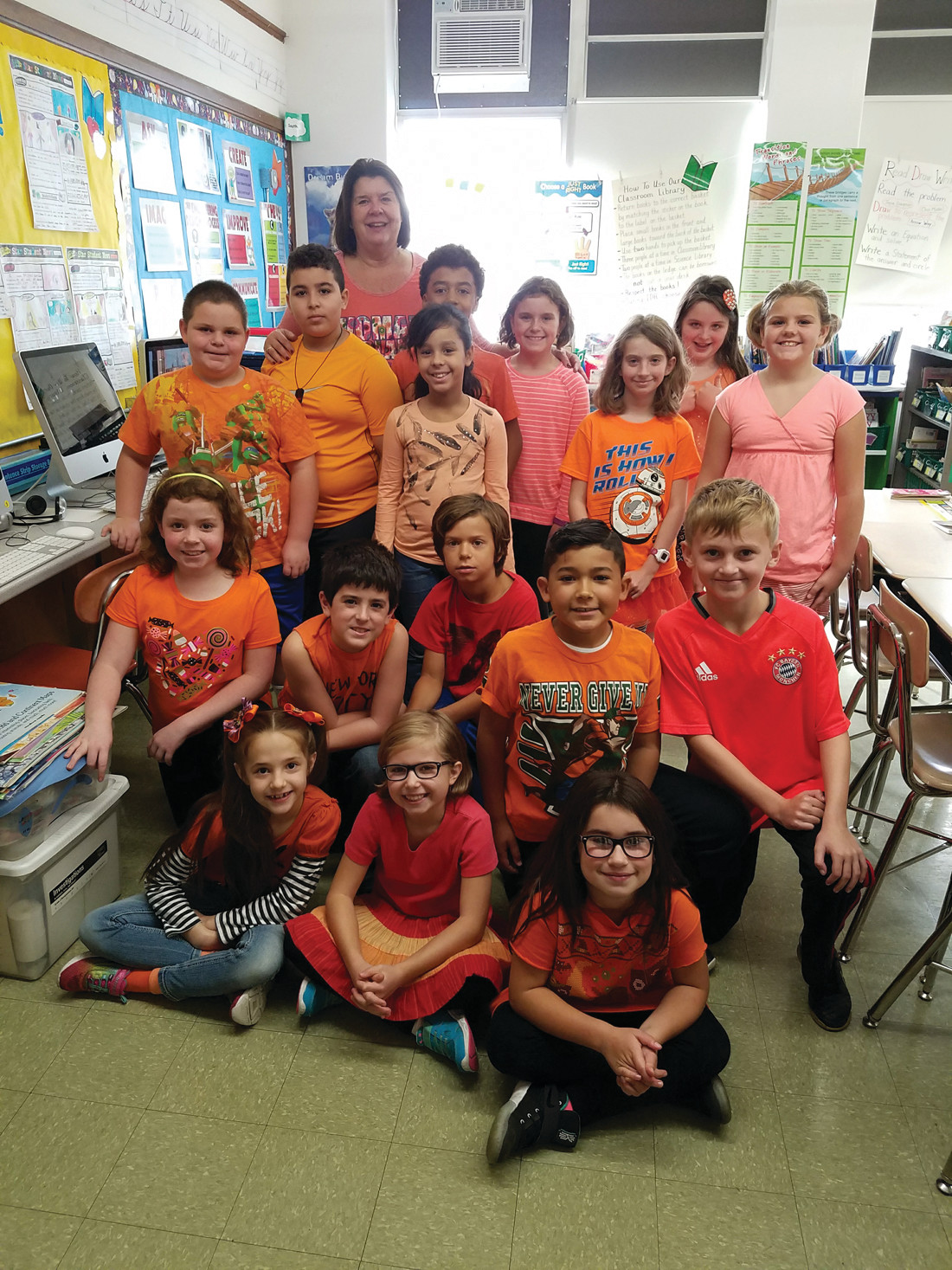 Cranston schools 'Go Orange' to fight hunger | Warwick Beacon