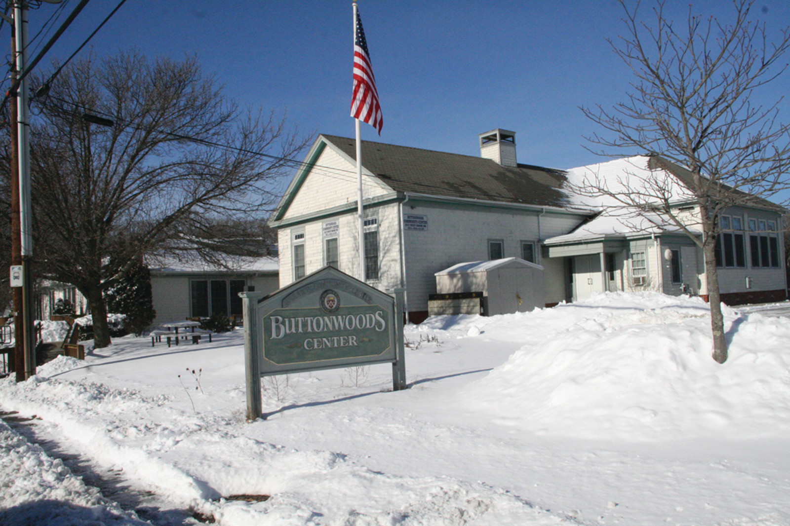 A NEW USE? Mayor Scott Avedisian is considering soliciting proposals for the sale of Buttonwoods Community Center.