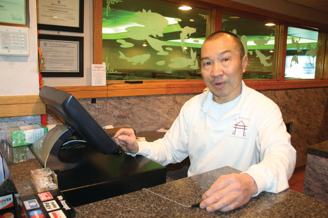TENURE: Keith Lau has been the manager of Han Palace for 28 years.