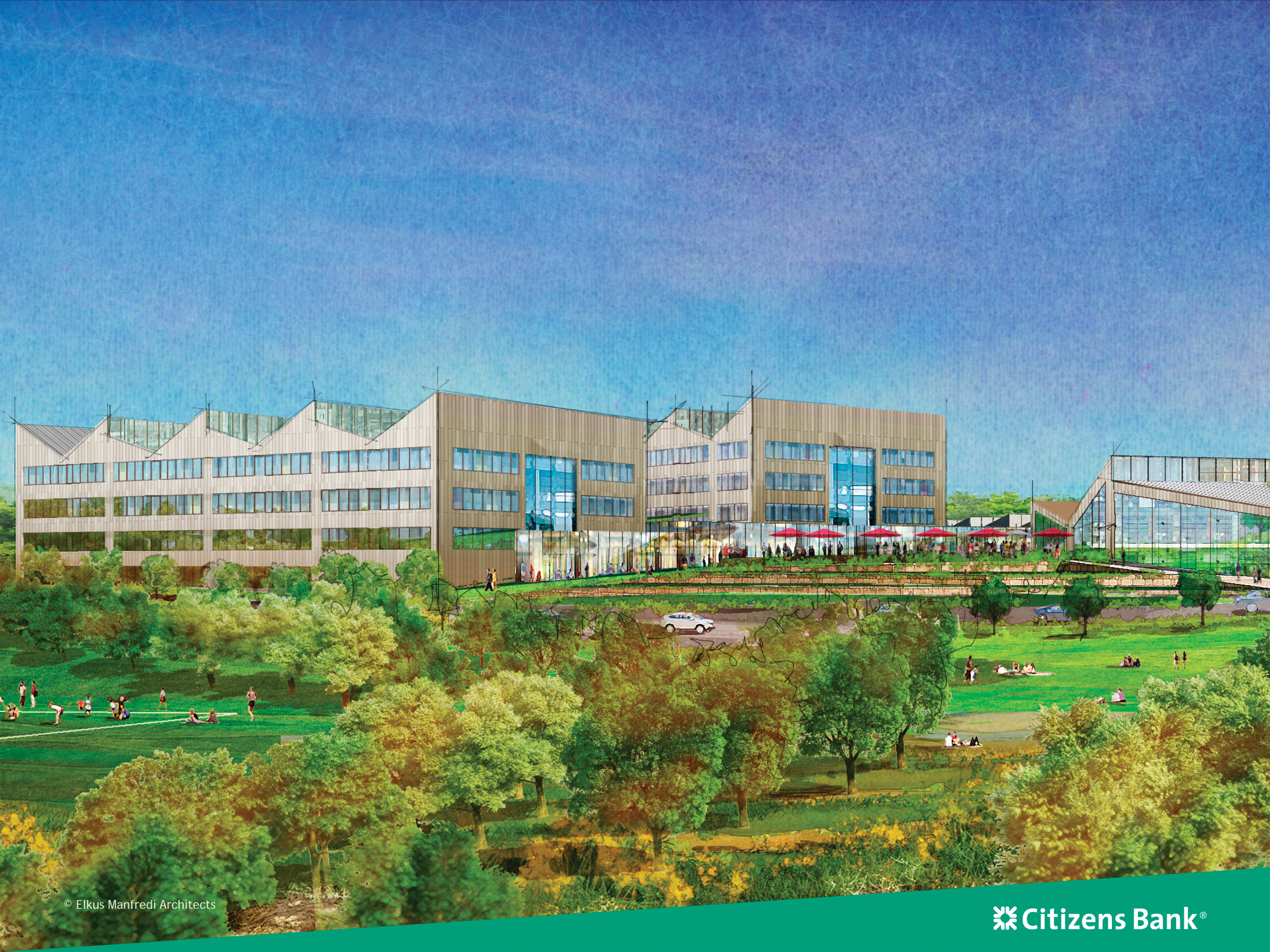 Citizens Bank Campus project on schedule | Warwick Beacon