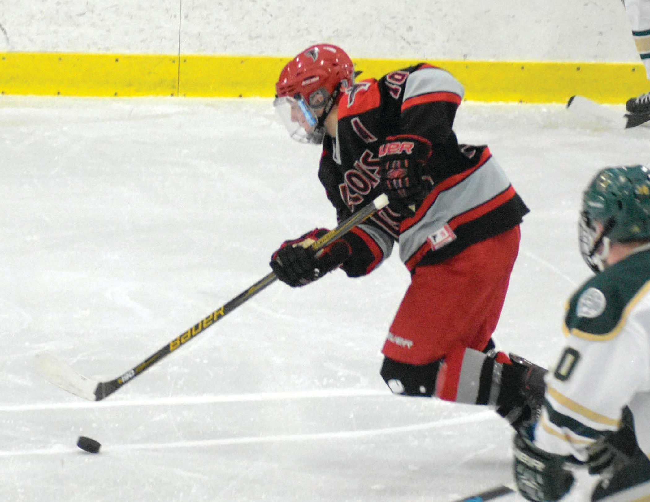 PROVIDING OFFENSE: Justin Neary registered a goal and an assist in Cranston's win over Prout.