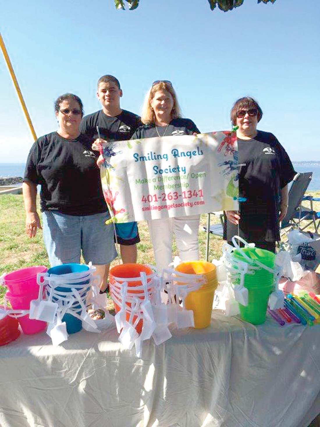 FUN IN THE SUN FOR OTHERS: