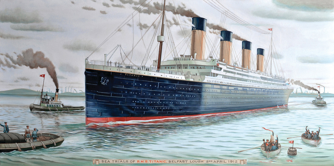 OPULENCE: The Titanic, celebrated for its opulence, is the theme for the April 8 dinner at the Casino at Roger Williams Park.